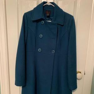 Beautiful green wool coat